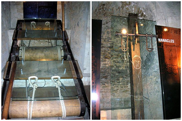Sightseeing Tower of London - Torture Devices