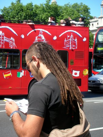 London - European Dreadlock Mullet