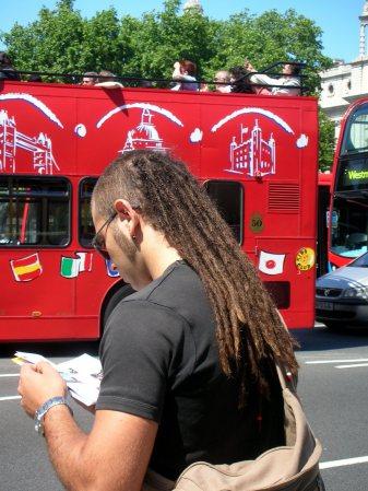 London - European Dreadlock Mullet