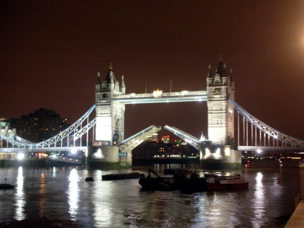 London Travel - Tower Bridge at Night