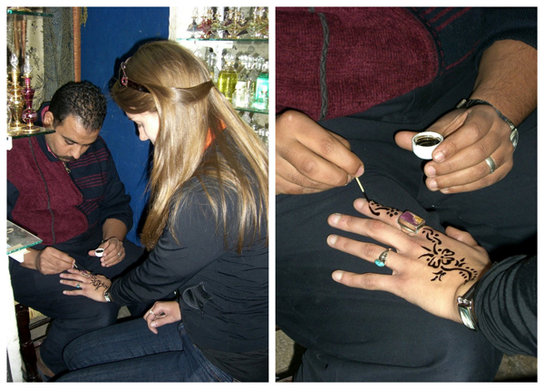 Spending a few days in Cairo, Egypt :: Henna Tattoos