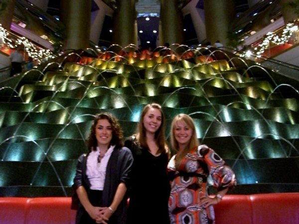 Celebrating in Dubai - Dinner at the Burj al Arab