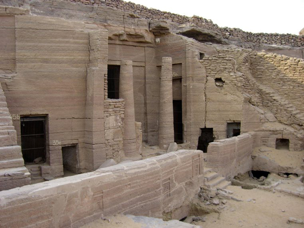 Aswan, Egypt - Tombs of the Nobles