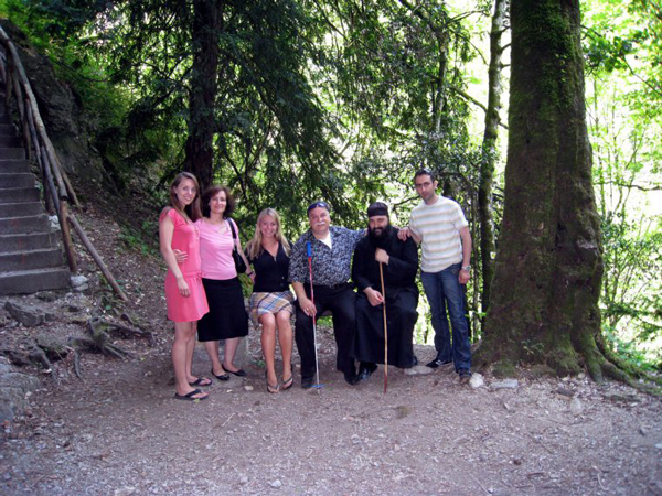 Greek Road Trip - Mount Olympus - Monastery
