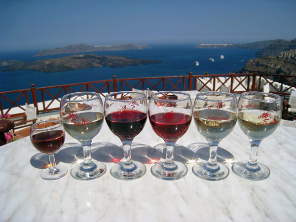Santorini Greece - Santo Winery
