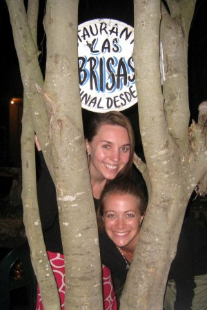 Night out in Flores Guatemala Restaurant Las Brisas