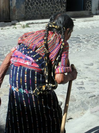 Guatemalan Lady in Traditional Dress