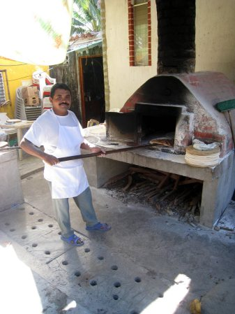 Wood Fired Pizza Monterrico Guatemala