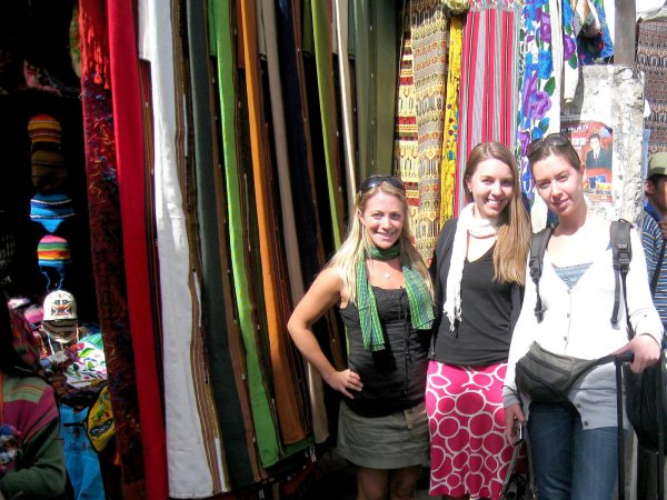 Scarf Shopping Guatemala