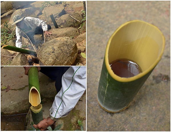Bamboo Drinking Cup Chiang Rai Thailand | A Side of Sweet