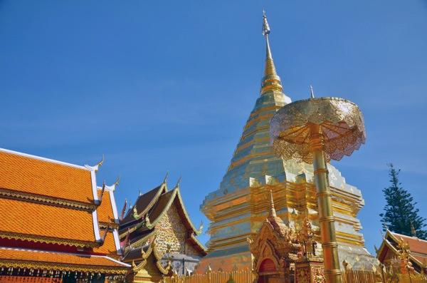 Doi Suthep, Chiang Mai, Thailand   Running Blonde