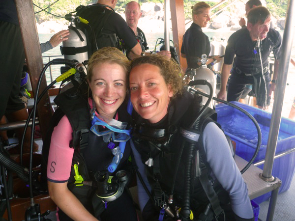 Scuba Diving Khao Lak, Thailand