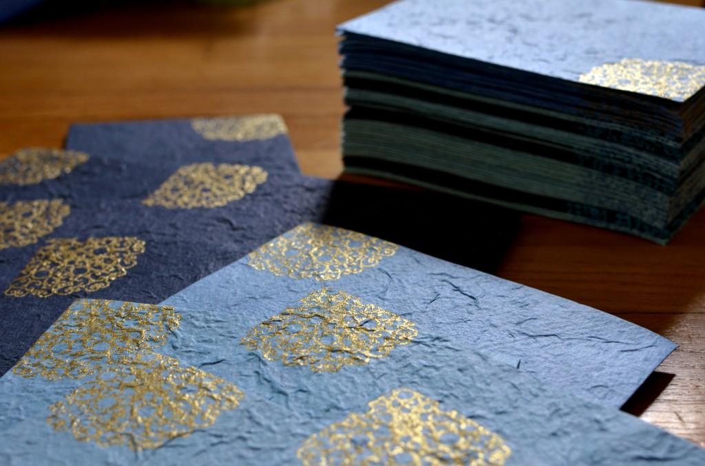 Easy Embossed Envelopes   Running Blonde