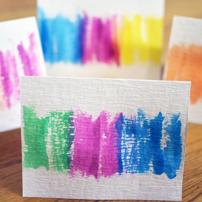 Easy Watercolor Cards for Mothers DayA Side of Sweet