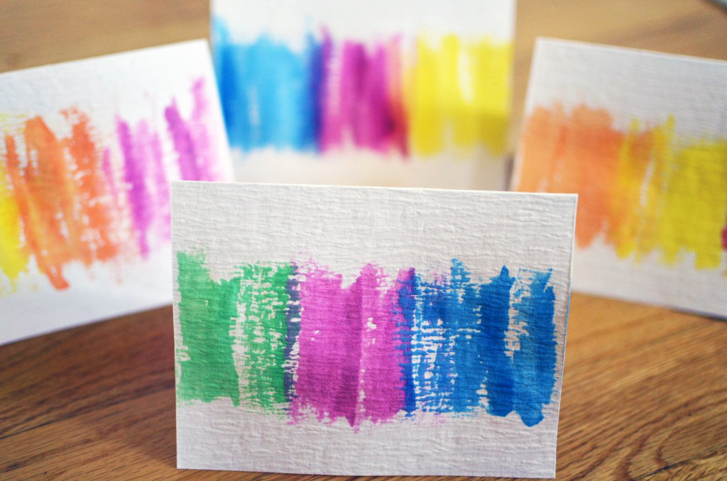 Easy Fun DIY Watercolor Greeting Cards
