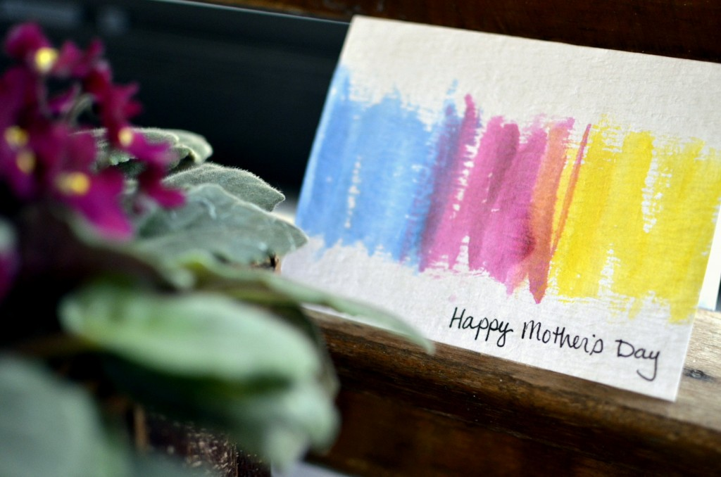 Easy Watercolor Cards - perfect for Mother's Day