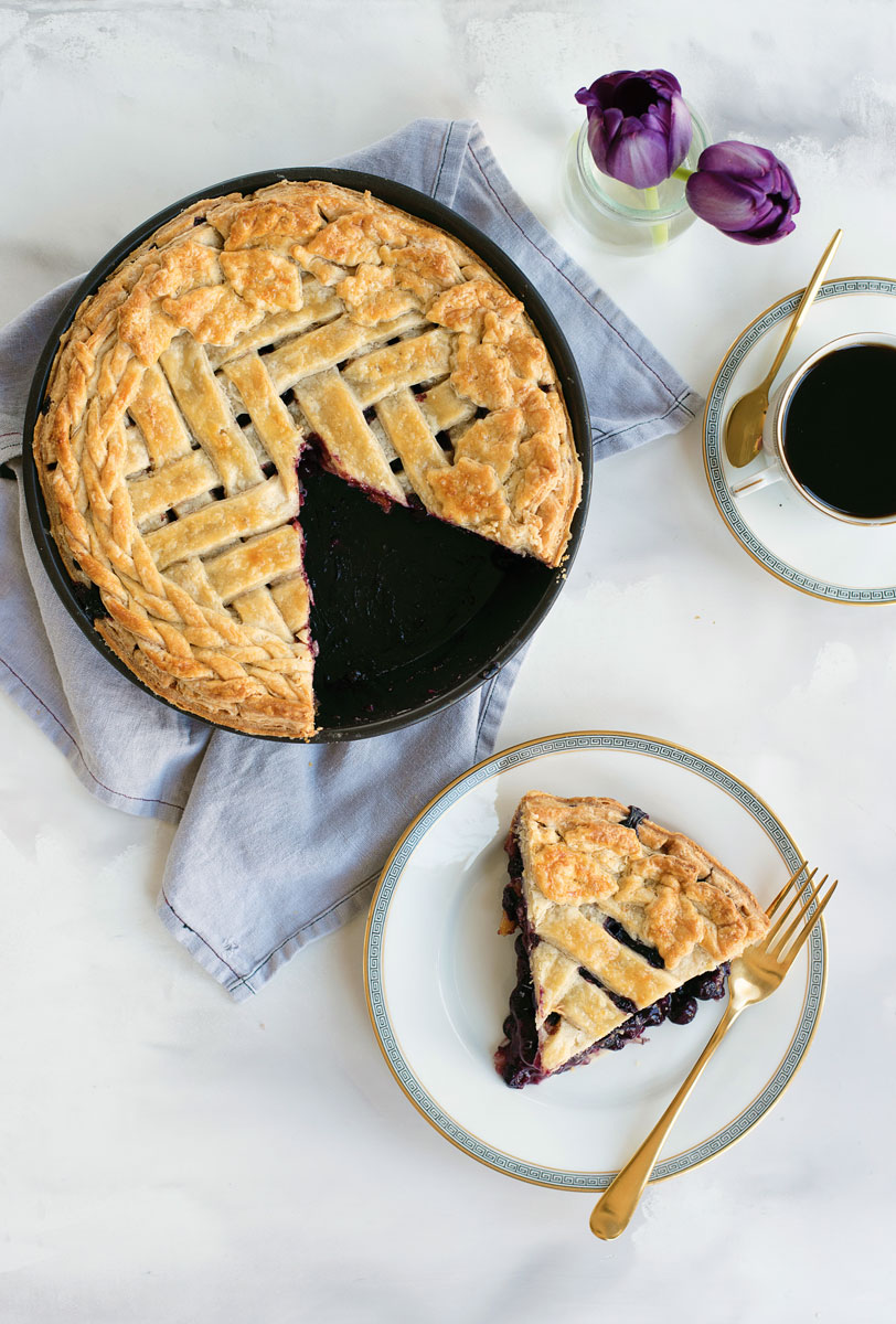 Best Pie Recipes Blueberry Pie Recipe Herringbone All Butter Pie Crust