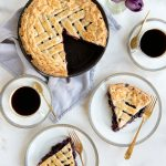 BEST Old Fashioned Blueberry Pie Recipe + All Butter Pie Crust