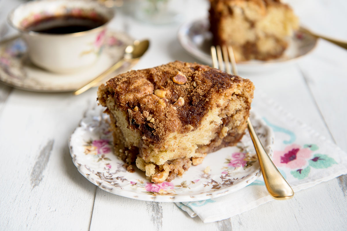Peach Coffee Cake Recipe Sour Cream