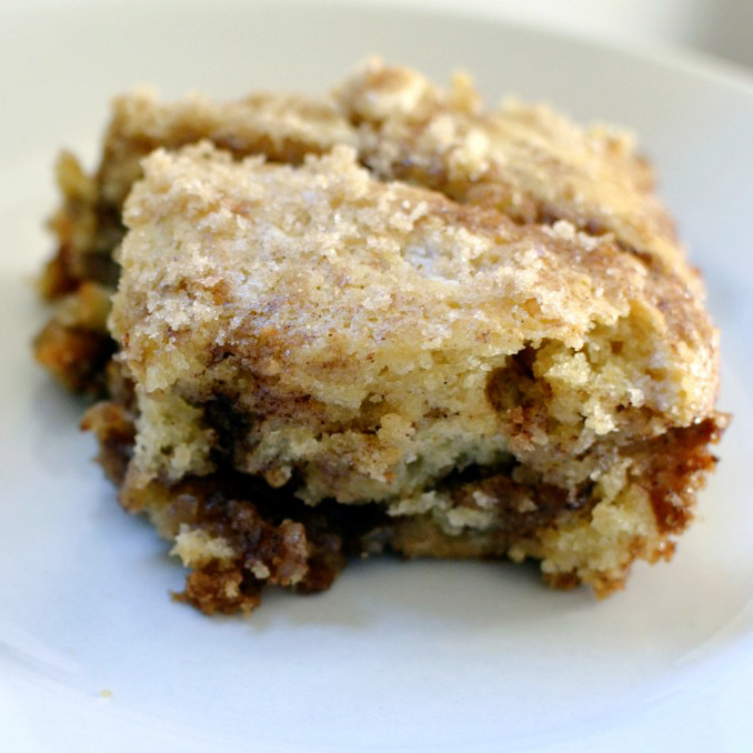 Sour Cream Coffee Cake Recipe Uk