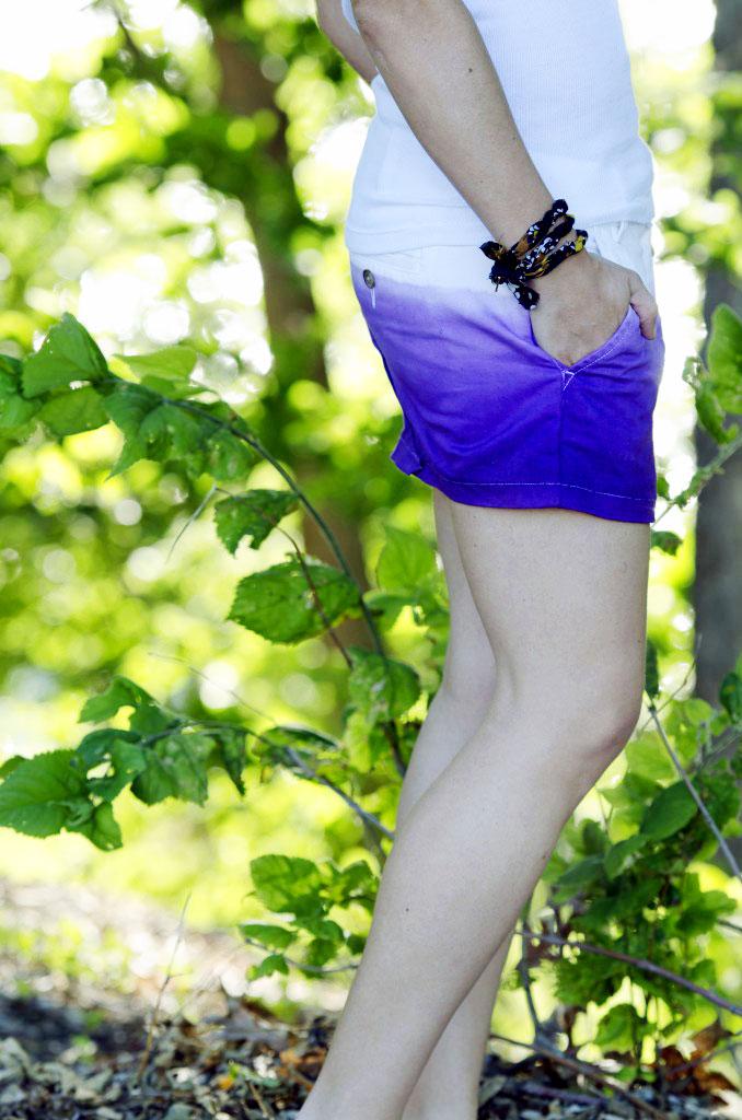 Fun & Easy DIY Dip Dye Ombre Skirt