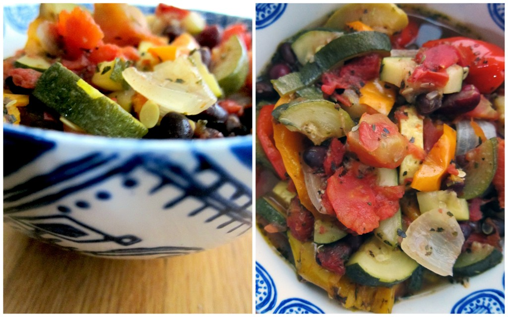 Slow Cooker Three Bean Ratatouille