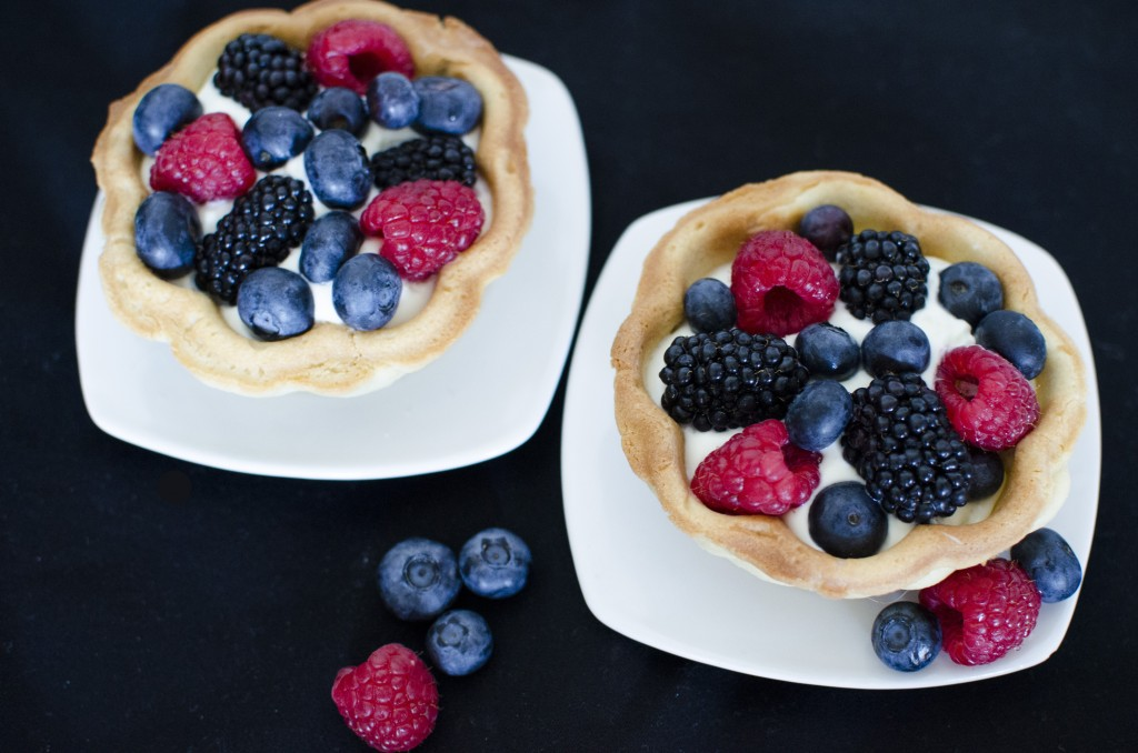 Fresh Fruit Tartlets | Running Blonde