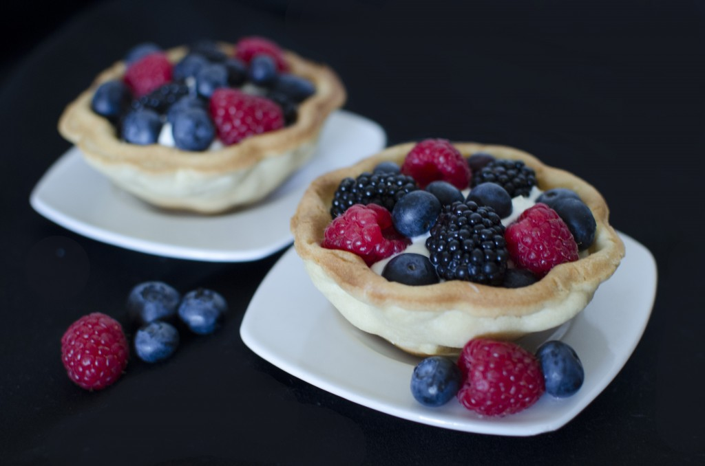 Fresh Fruit Tartlets Recipe | A Side of Sweet