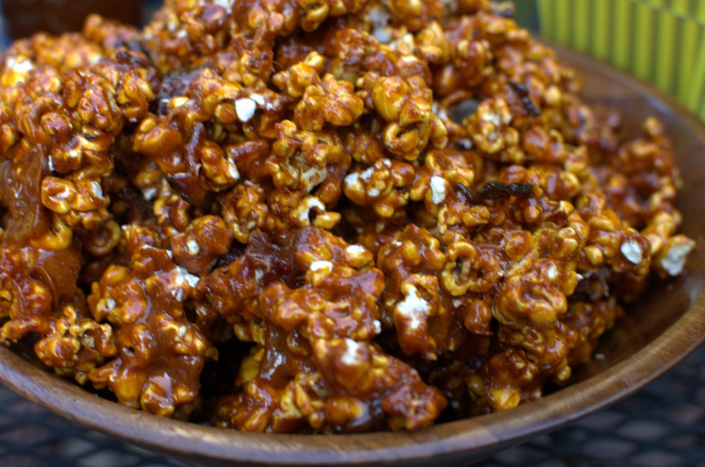 Spicy Caramel Bacon Popcorn Recipe