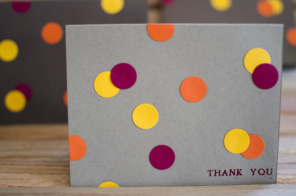 Easy-Peasy Punch Dot DIY Card Idea | Running Blonde