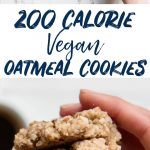 Easy Vegan Cookies Recipe with Oatmeal and Almond Flour