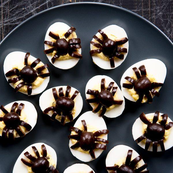 Halloween Deviled Eggs Recipe + BEST Deviled Eggs