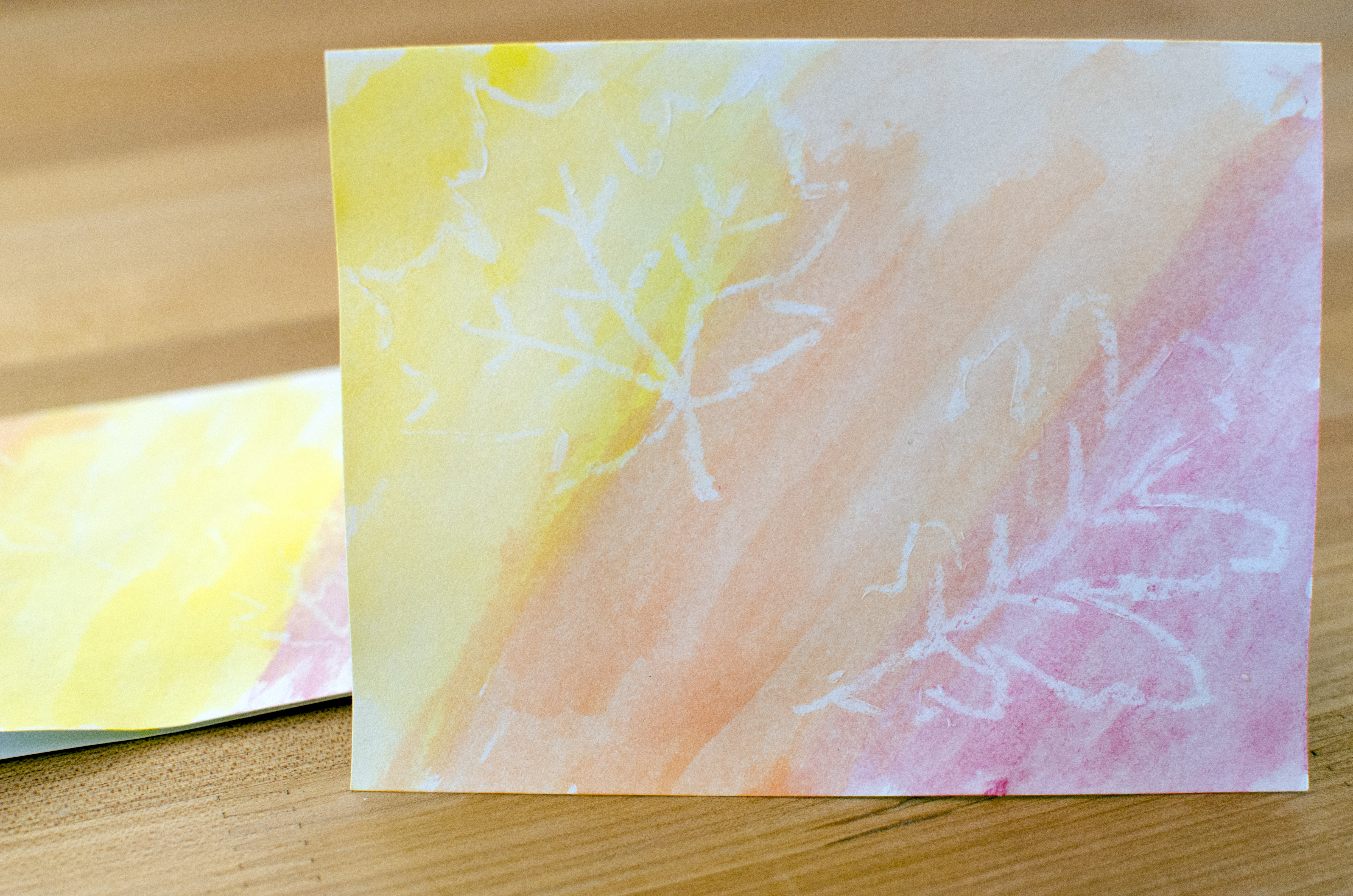 Easy fall watercolor cards running blonde easy fall leaf watercolor greeting cards running blonde kristyandbryce Images
