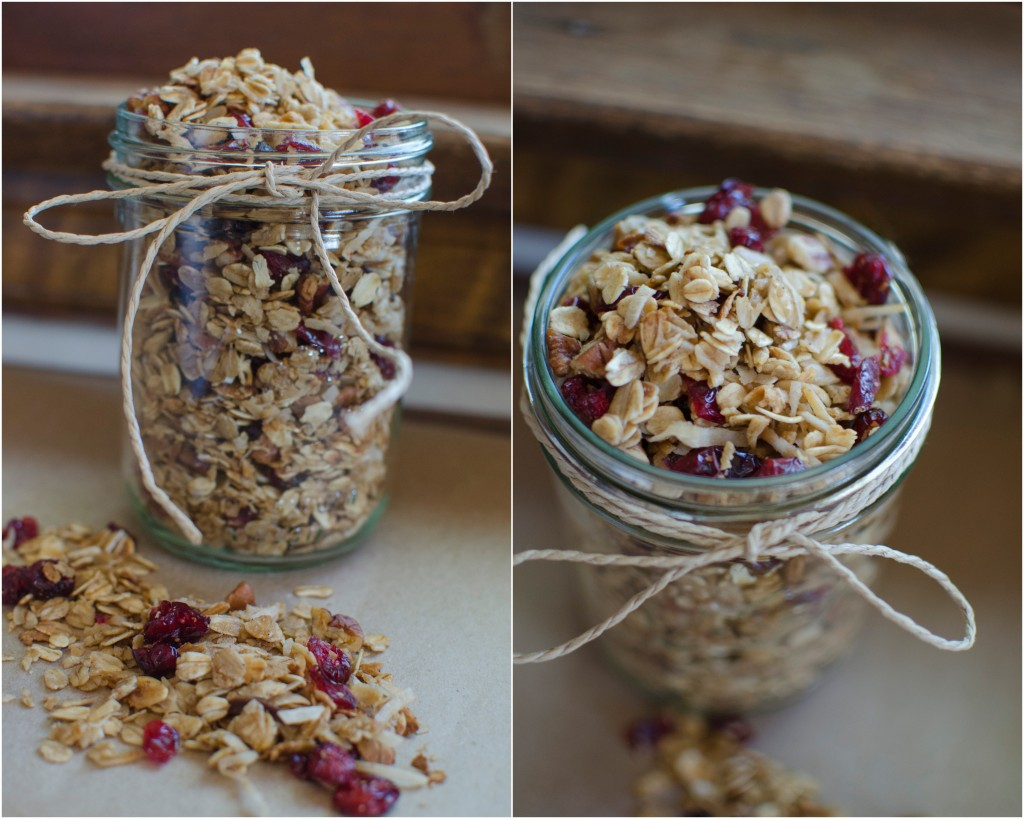 Pumpkin Pie Spice Healthy Granola Recipe