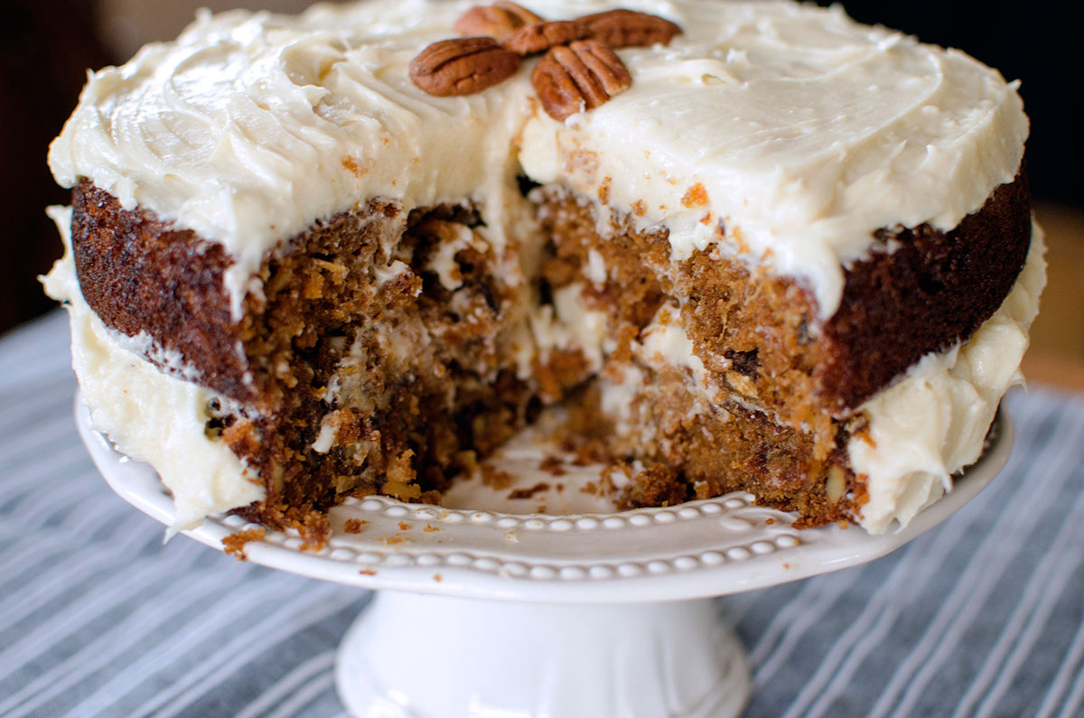 Wedding Carrot Cake Recipe Uk
