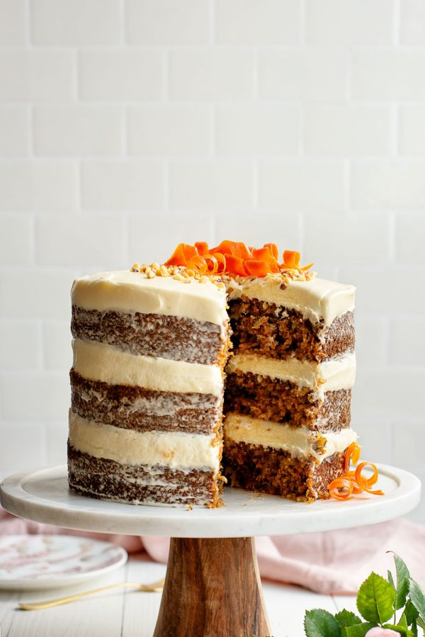 BEST Homemade Carrot Cake Recipe with Pineapple