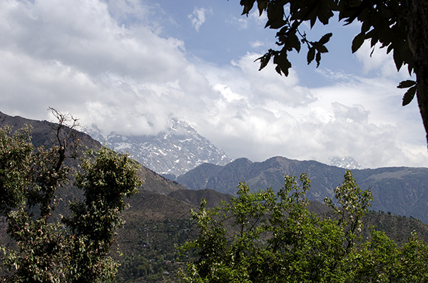 Dhauladhar mountain range, Himalays, Dharamsala, India