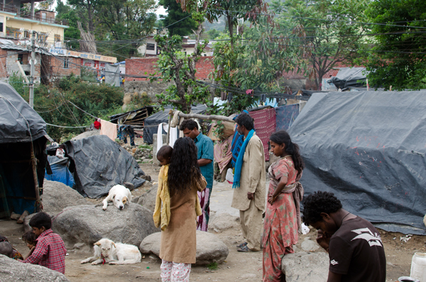 Tong Len Mobile Clinic - Volunteering in the Dharamsala Slums India