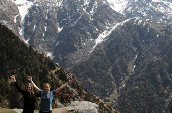Trekking Triund McCleod Ganj, India