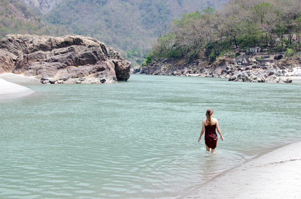 Things to Do in Rishikesh India - Swimming in the Ganges