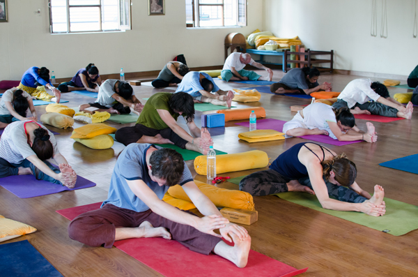 Yoga and Ashram Life Rishikesh India