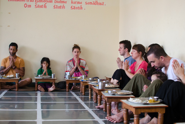 Yoga and Ashram Life Rishikesh India