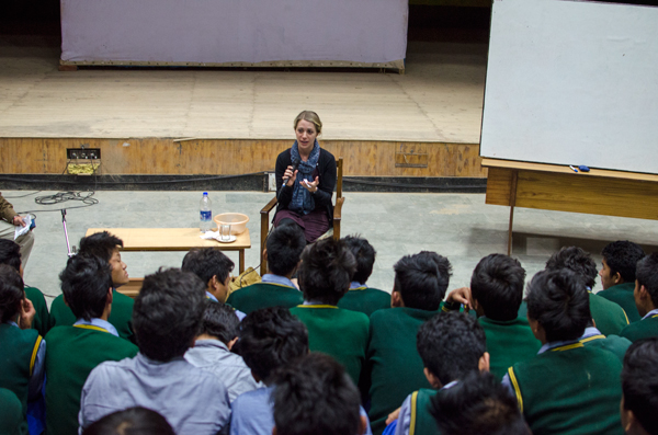 Teenage Health Talks at Tibetan Children's Village
