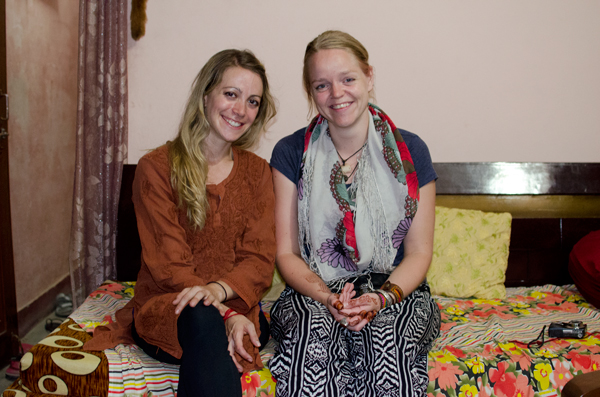Couchsurfing in Varanasi, India