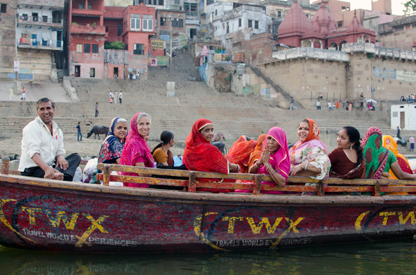 Ganges Boat Ride in Varanasi India