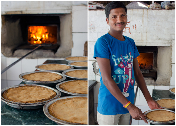 Homemade Apple Pie Varanasi India