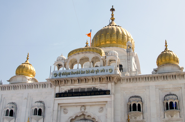 Sikh temple Gurudwara Bangla Sahib - New Delhi India