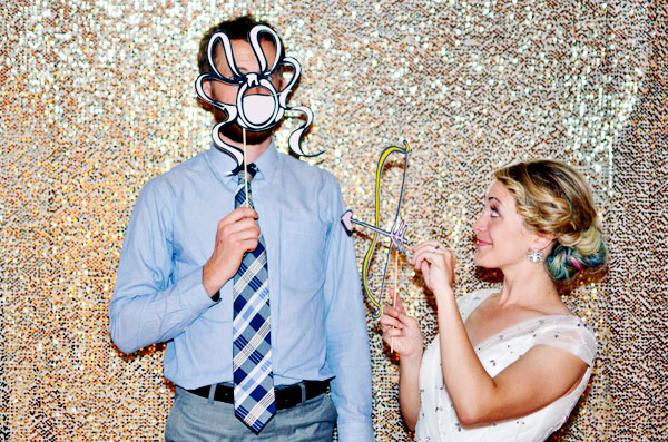 DIY Cheap Wedding Photobooth Setup