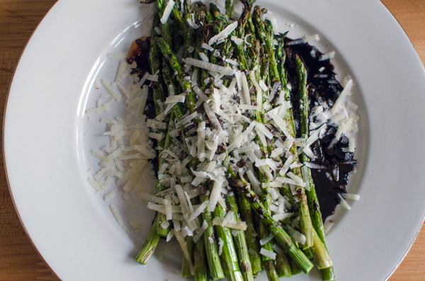 Roasted Asparagus with Balsamic Vinegar and Parmesan - A ...