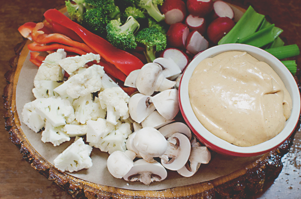 Spicy Cream Cheese Dip with Homemade Adobo - A Side of Sweet